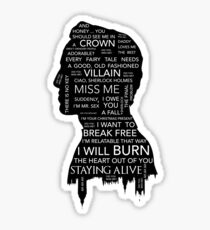 Jim Moriarty • Sherlock BBC Sticker