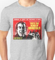 Taste the Blood of Dracula - vintage horror movie poster Unisex T-Shirt