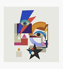 Bauhaus Bowie Photographic Print