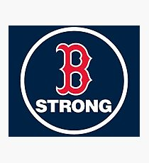B-Strong Boston Red Sox Photographic Print