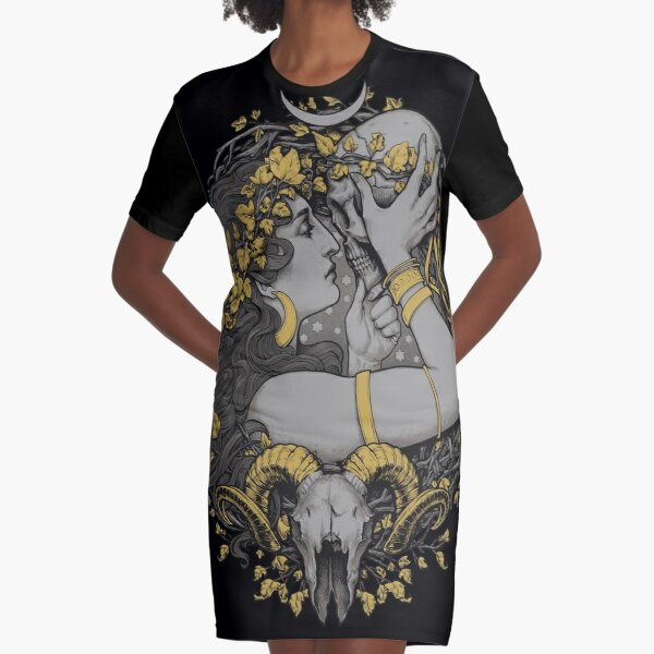 THE WITCH Graphic T-Shirt Dress