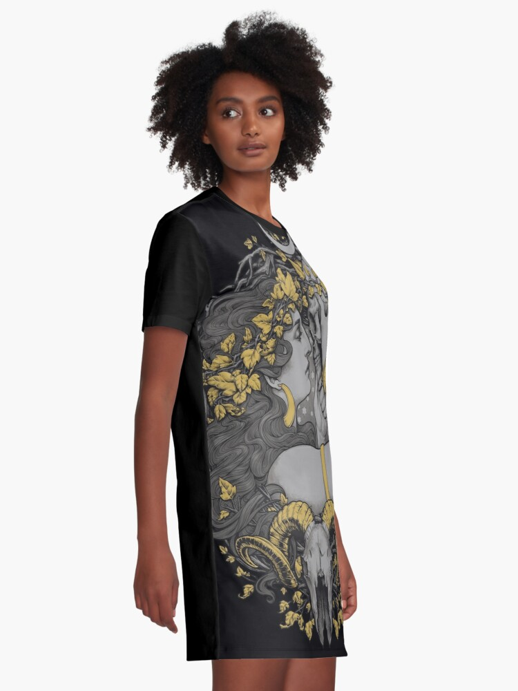 Alternate view of THE WITCH Graphic T-Shirt Dress