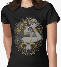 THE WITCH Womens Fitted T-Shirt