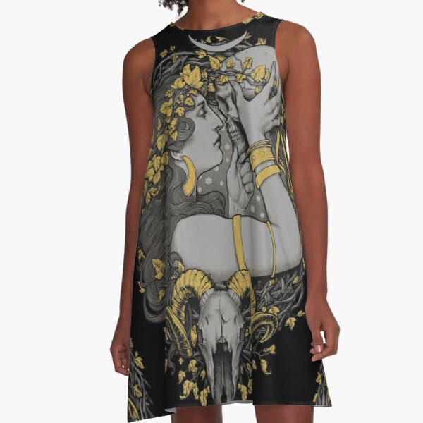 THE WITCH A-Line Dress