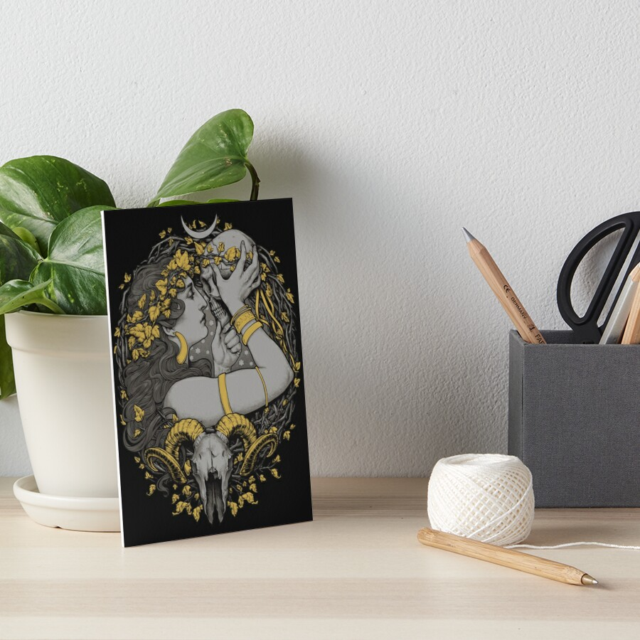 THE WITCH Art Board Print