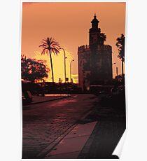 Sevilla - Torre del Oro Poster