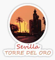 Sevilla - Torre del Oro Sticker