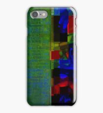 BRICK WALL ABSTRACT iPhone Case/Skin