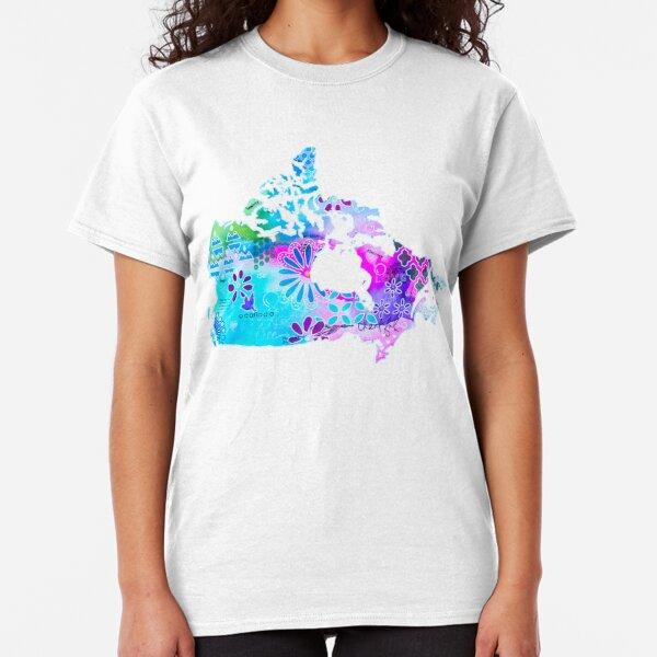 O Canada 150 Birthday Mixed Media Classic T-Shirt