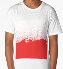 blood splatter Long T-Shirt