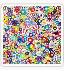 Takashi Murakami Shangri-la Shangri-la Shangri-la Sticker