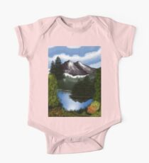 Mountain Scene Kids Clothes
