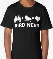 Bird Nerd Funny Birder Long T-Shirt