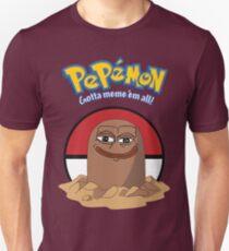 Pepémon Diglett Pepe RARE Dank Meme Graphic Unisex T-Shirt