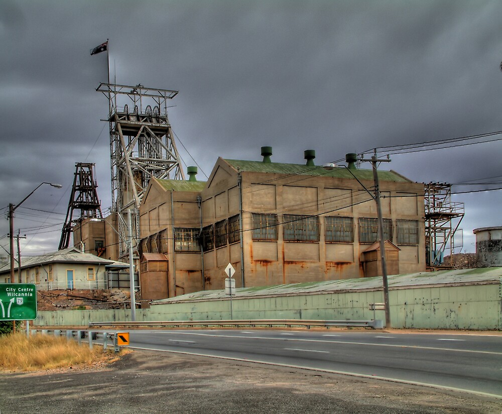 Old South Mine by Rod Wilkinson
