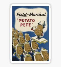 Field Marshal 'Potato Pete' Sticker