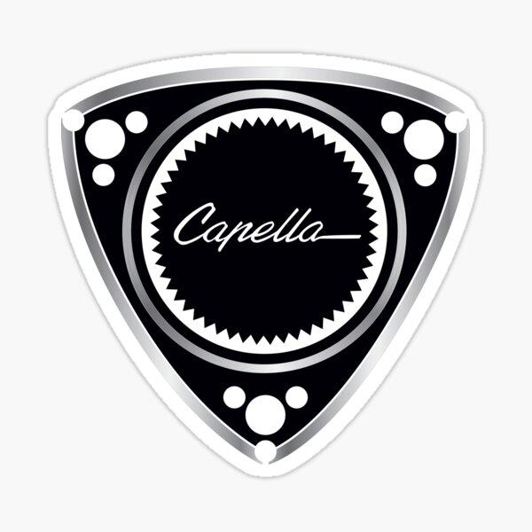 PISTON-ROTARY-CAPELLA SCRIPT Sticker