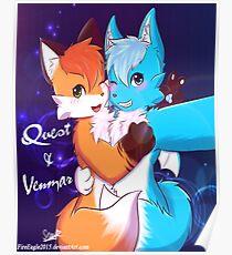 Venmar & Quest Selfie Poster
