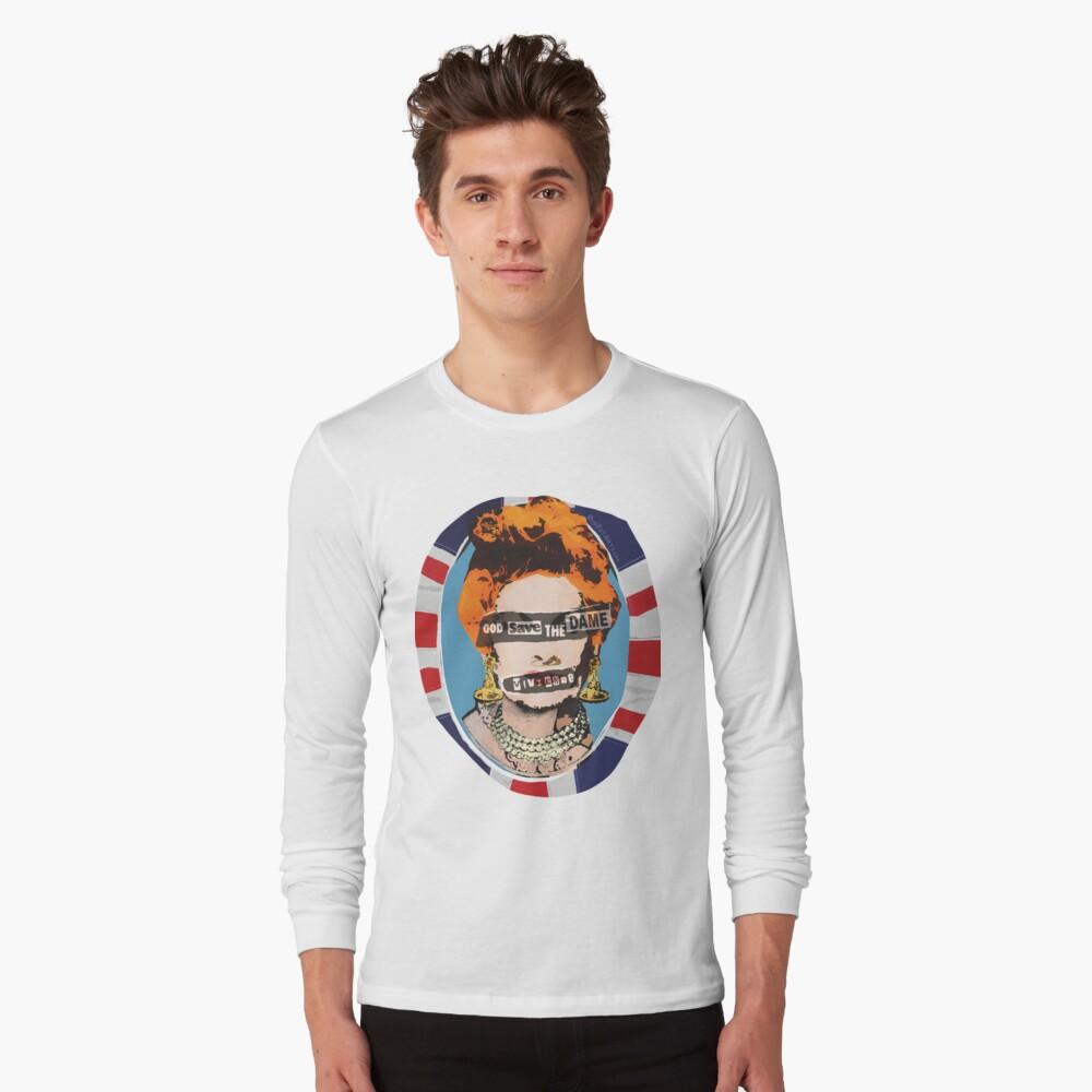God Save The Dame T Shirt By Bigfatarts Redbubble