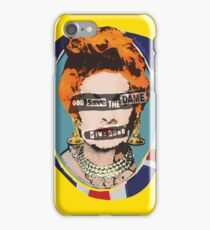 God Save The Dame iPhone Case/Skin