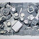 Still Coffee & cigarettes by Ronald Wigman