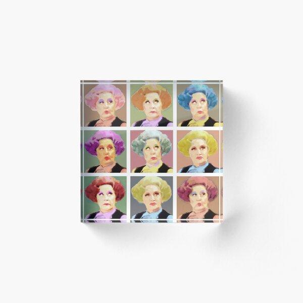 Pussy Pop - Nine Lives Acrylic Block
