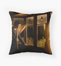 The beginning or the end... Throw Pillow