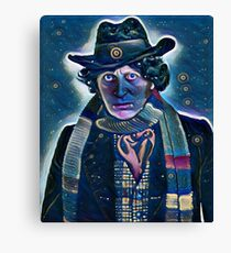 Doctor Who - Forth Doctor Canvas Print