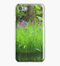 Tranquil  Irises iPhone Case/Skin