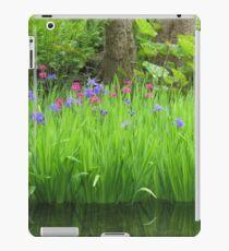 Tranquil  Irises iPad Case/Skin