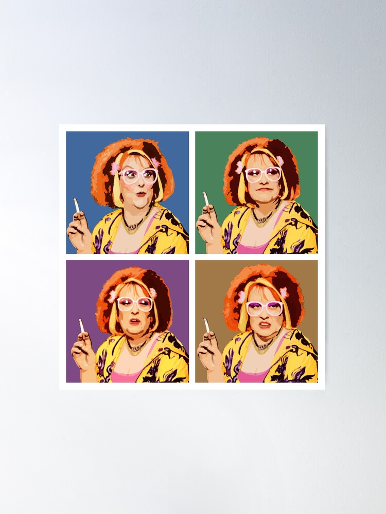 Alternate view of The Auburn Jerry Hall Pop Art Poster
