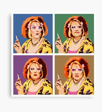 The Auburn Jerry Hall Pop Art Canvas Print