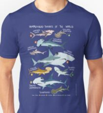 Hammerhead Sharks of the World T-Shirt