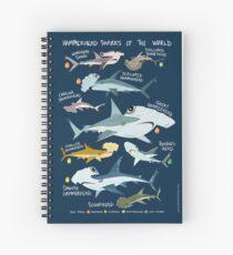Hammerhead Sharks of the World Spiral Notebook