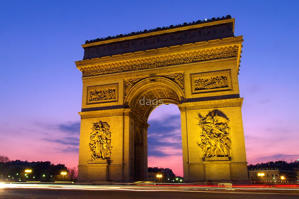 Arc De Triumph by dags