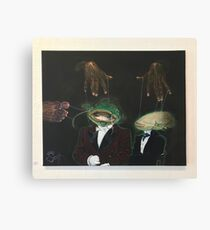 Catfish Puppetry Canvas Print