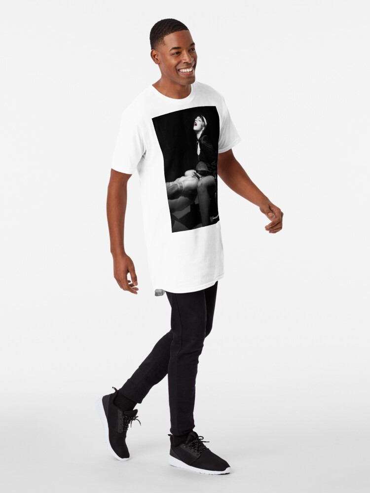 Alternate view of Closer To God (John 6:56) Long T-Shirt
