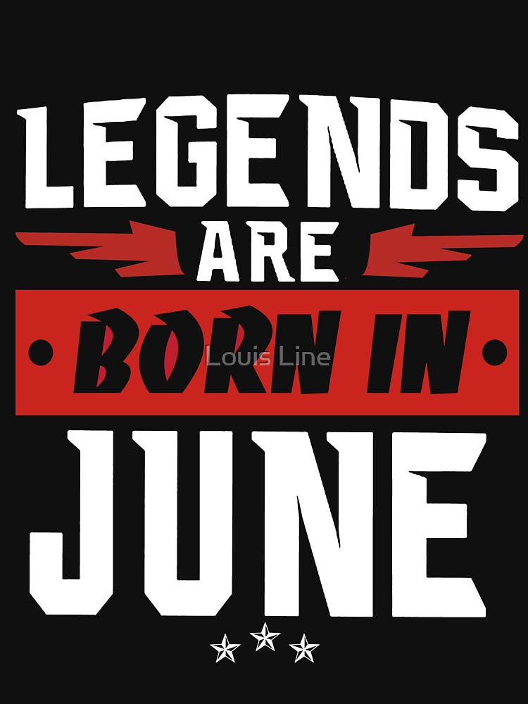LEGENDS ARE BORN IN JULY by louistai