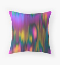 Yogi Plums & Orange Souls Throw Pillow