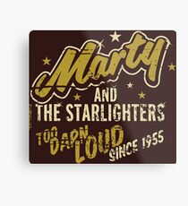 BTTF - Marty and the Starlighters  Metal Print