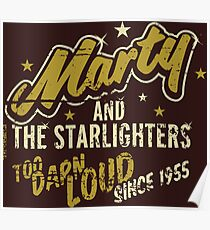 BTTF - Marty and the Starlighters  Poster