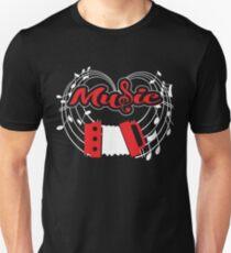 Accordion TEE - Music SHIRT T-Shirt