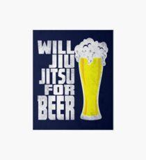 Jiu jitsu shirt  Art Board