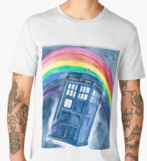 Sci Fi  inspired by The Doctor Men's Premium T-Shirt