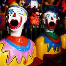 Sideshow Clowns by Cathie Tranent