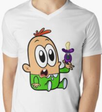 Baby Mikey Mens V-Neck T-Shirt