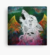 Wolf Spirit Animal Canvas Print