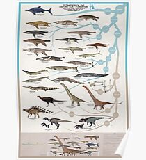 Tetrapods of the Oxford Clay Formation Poster