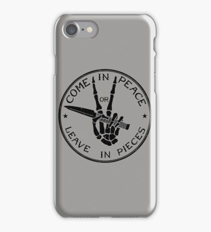 Come in Peace iPhone Case/Skin