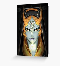 Twilight Princess Midna Greeting Card